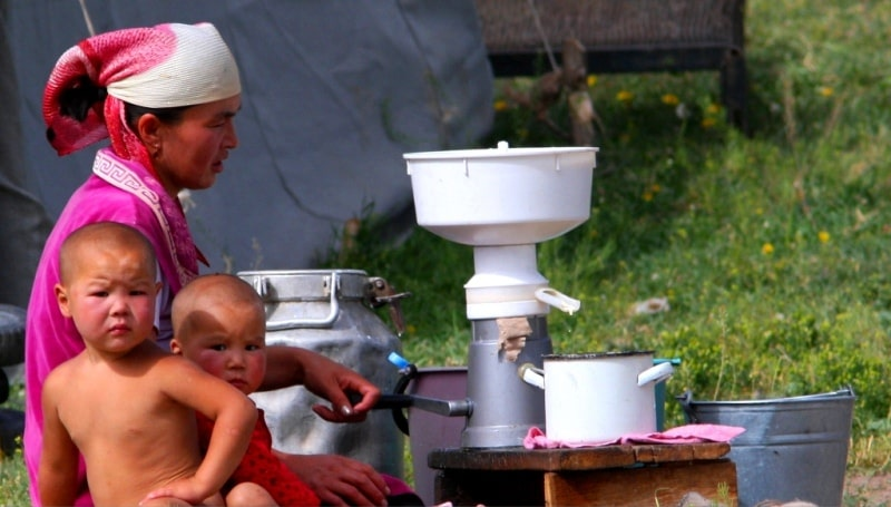 Life of the Kyrgyz nomads.