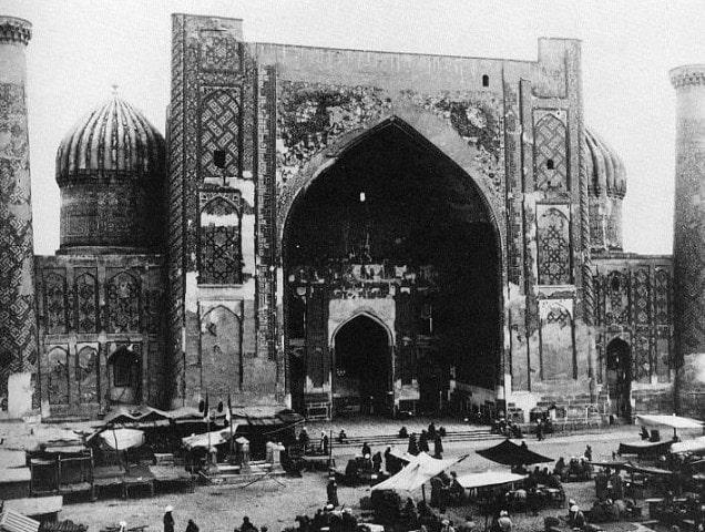 Из альбома «Исторические памятники Самарканда». Фотограф Панкратьева.Г.А. 1890 год.