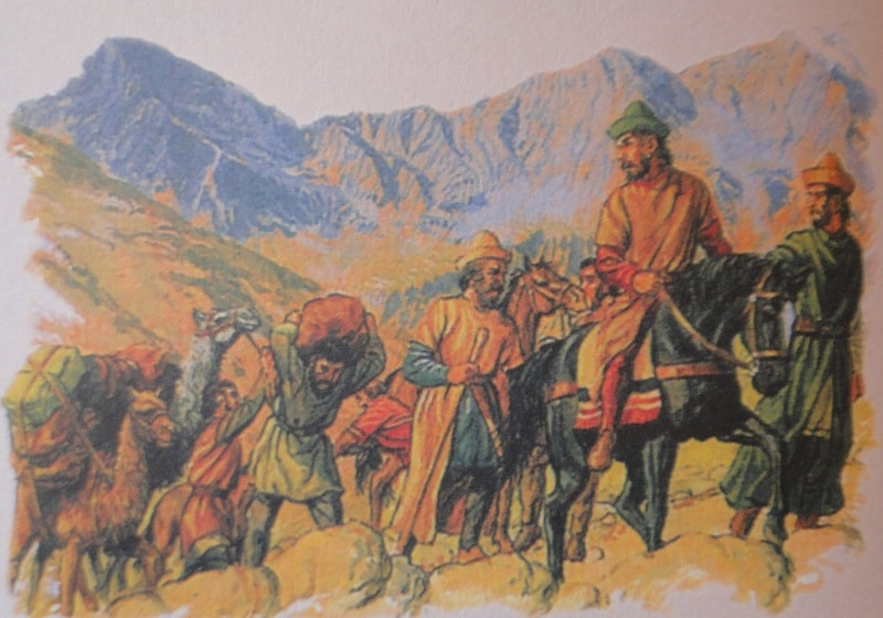 Путешествия Марко Поло в Китай.