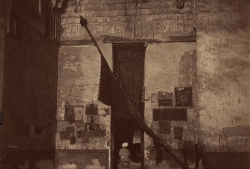 Город Туркестан. Главная ниша в мавзолее, ведущая в гробницу святого Султана Ахмеда Ясави.