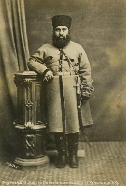 Самарканд. Абдур-Рахман, эмир афганский в изгнании.