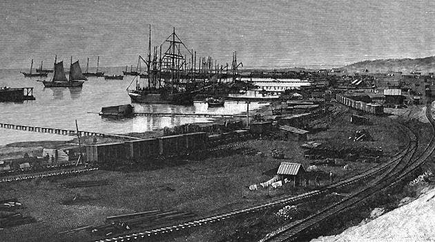 Порт Узун-Ада. С фотографии.