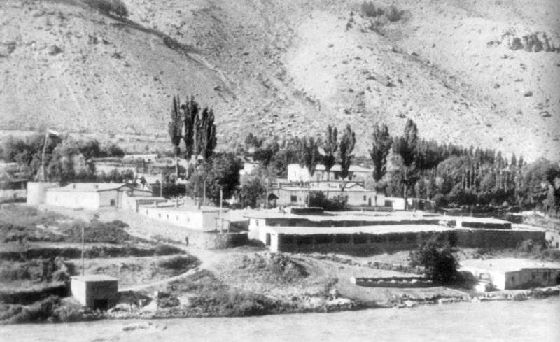 Хорог 1910-е годы. Фотография из архива Упилько.