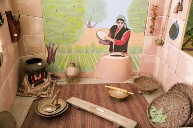 "Exposition «Traditional ways of cooking at Tadjiks""."