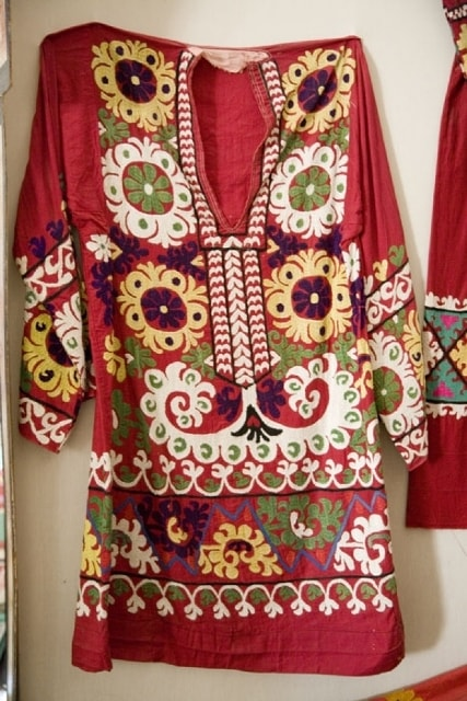 Tajiks Traditional a dress. XX century