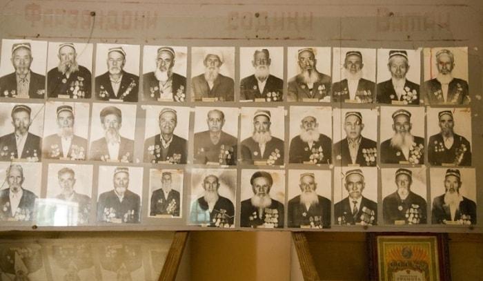 Экспозиция «Зал славы, войны и труда».