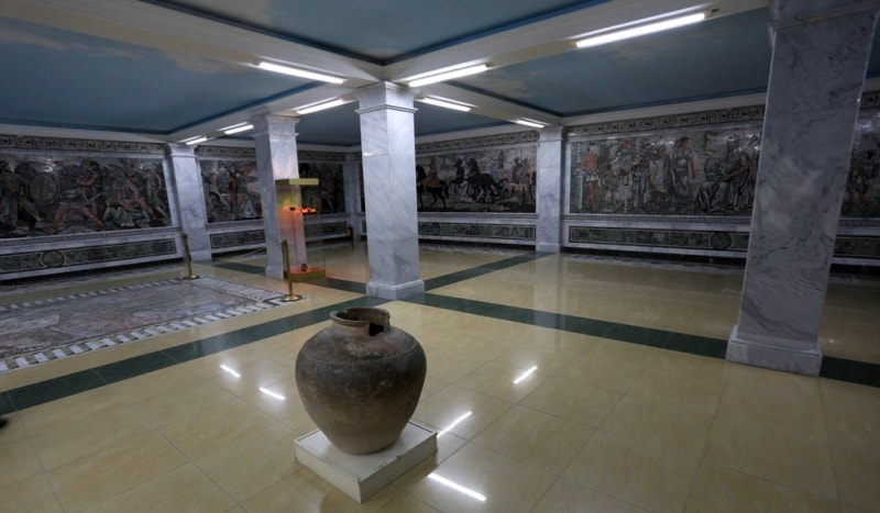 Hisorical-study of local lore museum of archeology and fortification in Khudjand.