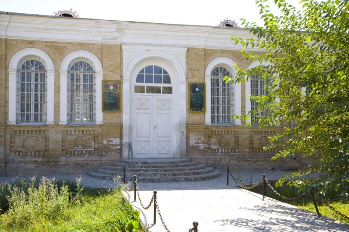 Building of the Historical-study of local lore museum Istaravshan.
