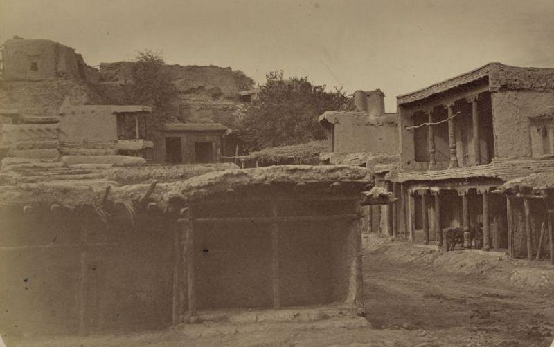 Penjikent. A part of city of Bazari-Balal.