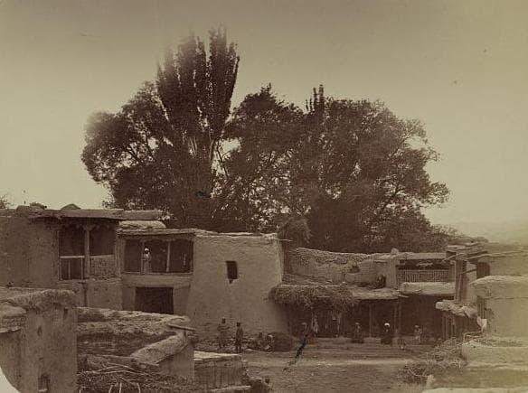 Citadel Penjikent.