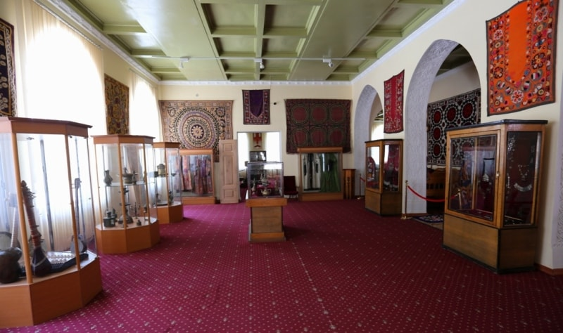 Hall of ethnography.