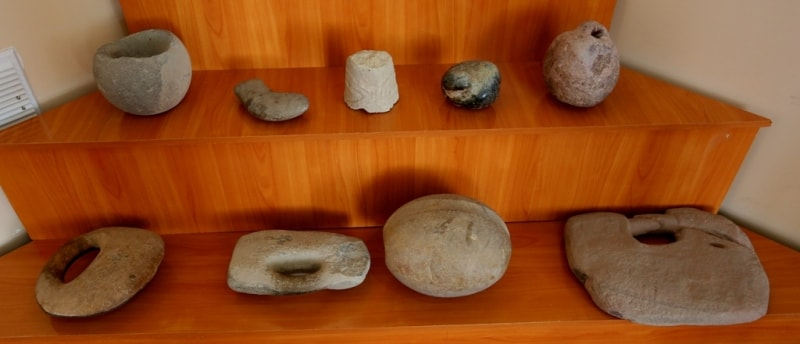 Finds at excavation on site of ancient settlement Sarazm.