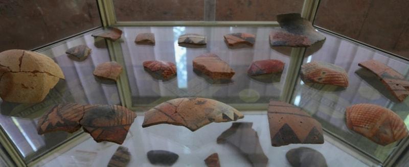 Артефакты музея.