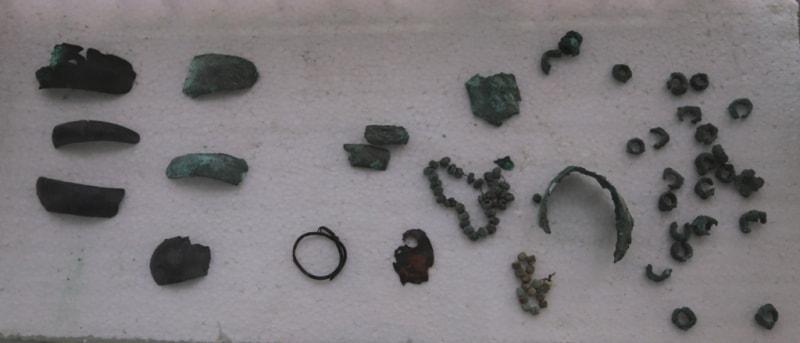 Погребение Дашти Кози (середина II тысячелетия до н.э.).