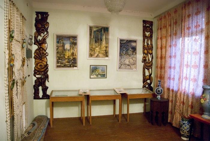 Экспозиция «Культура и искусство Кайраккума».
