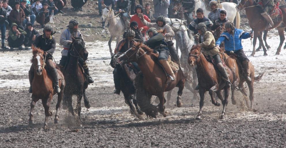 Этот популярный вид спорта, требует от участников отваги, ловкости и силы.