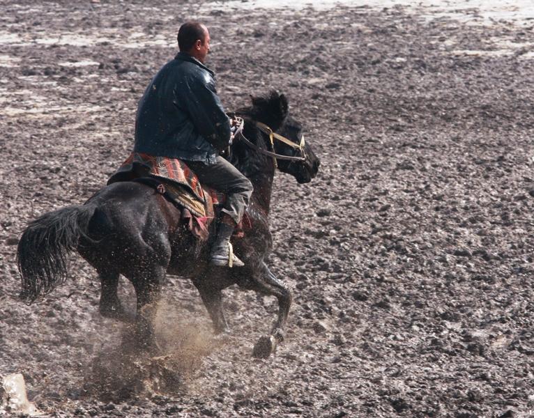 Сегодня седлают лошадей на любой праздник - будь-то Навруз, свадьба, той (пир) или же День независимости республики.