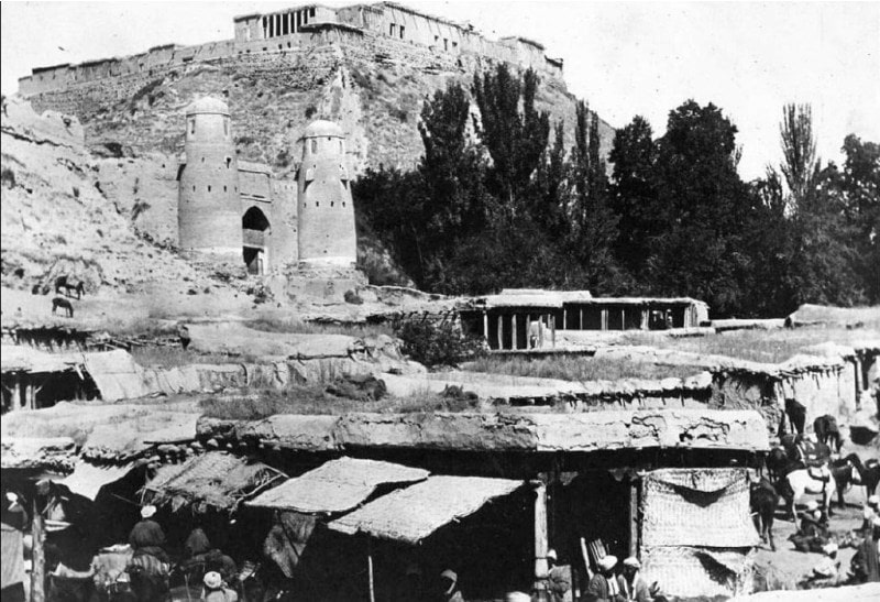 Ghissar fortress. 1924.