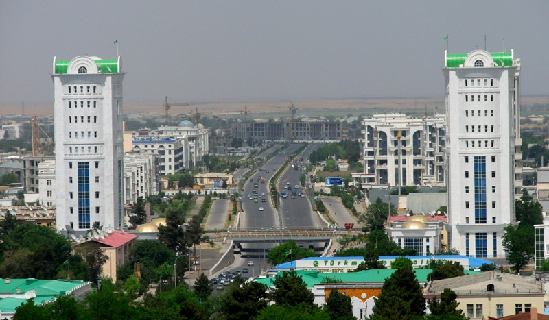 In Turkmen folklore, the name of town is connected with value city of love.