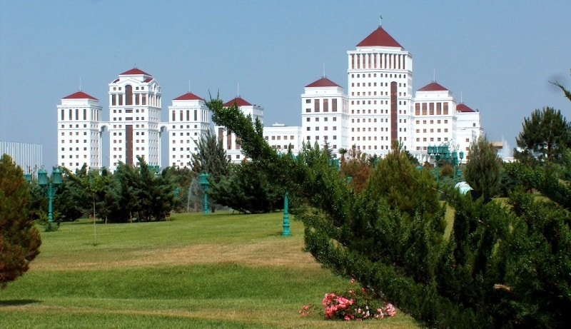 Ashgabat city.
