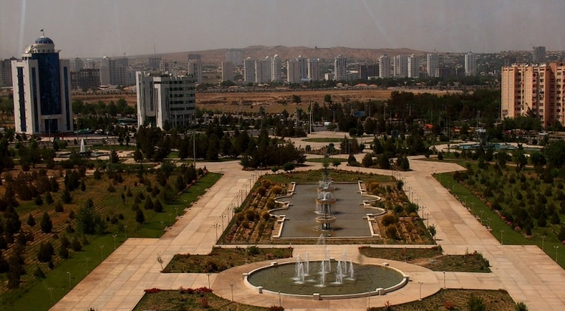 Город Ашгабад.