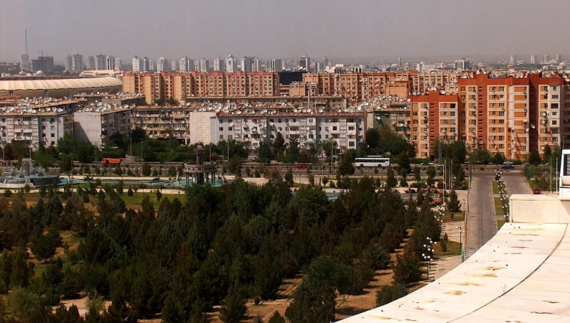 City of Ashgabad.
