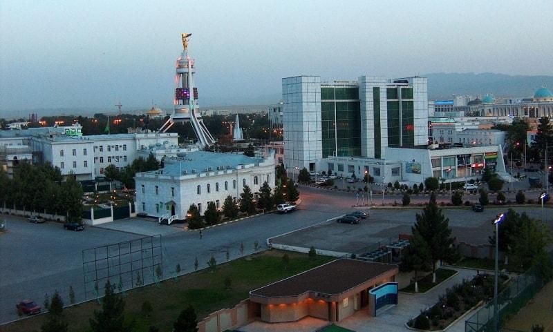 Ashgabad city.