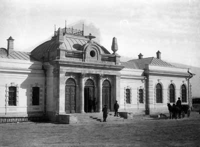Askhabad station. 1901.
