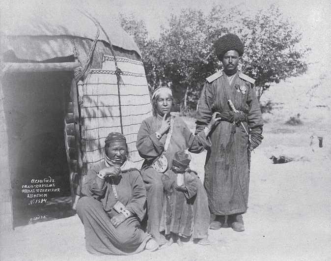Askhabad. Sali-hanym. Achaltekin hansha. N. Orde. 1880th years.