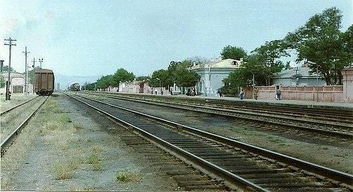 Железнодорожная станция Кызыл-Арват.