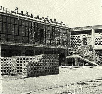 Универмаг в городе Кызыл-Арват. 1986 год.