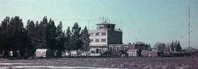 Окрестности аэропорта города Кызыл-Арват.