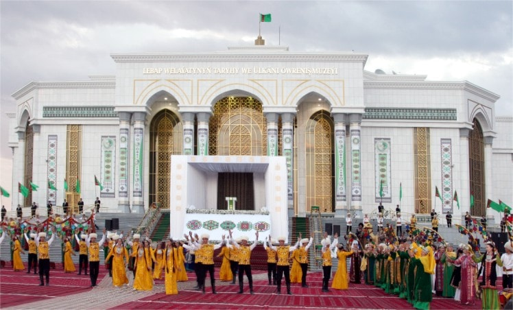 Museum in Turkmenabat open on 15-th of September  2011.