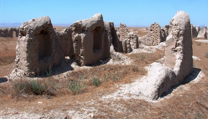 Abiverd ancient town in Turkmenistan.