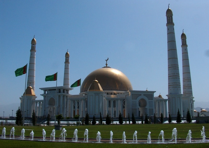 Туркменбаши Рухы  мечеть в Кипчаке.
