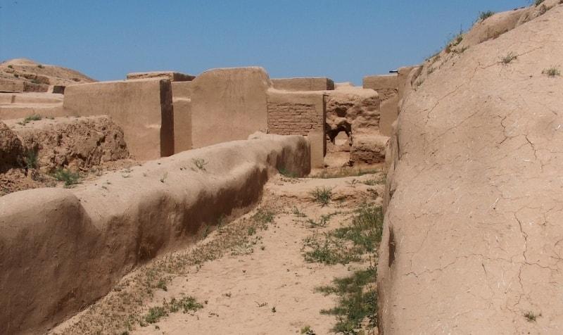 Старая Ниса городище.