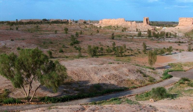Izmukshir Fortress.