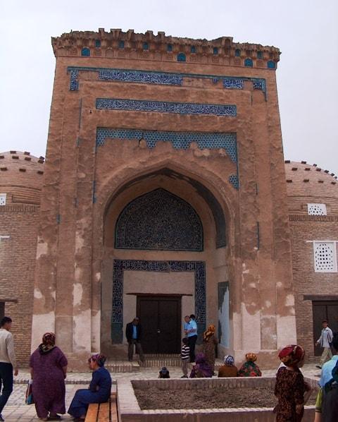 Nadzhmetdin Kubra mausoleum.