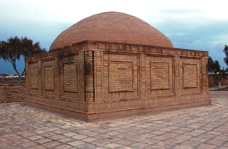 Piryar Vali mausoleum in Kunyz-Urgench.