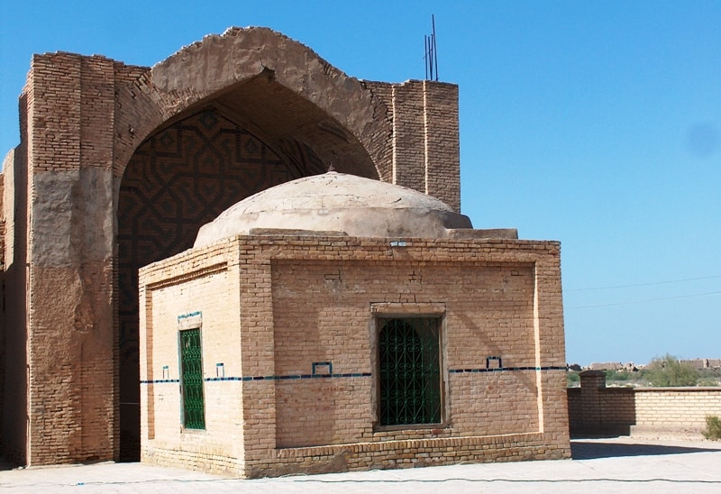 Askhabs mausoleum.