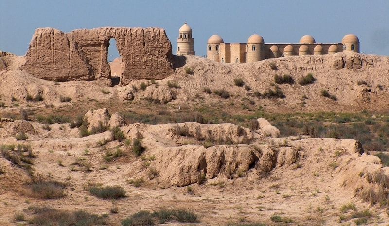 Байрамалихан-кала крепость.