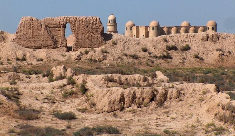 Bayramalikhan-kala fortress.