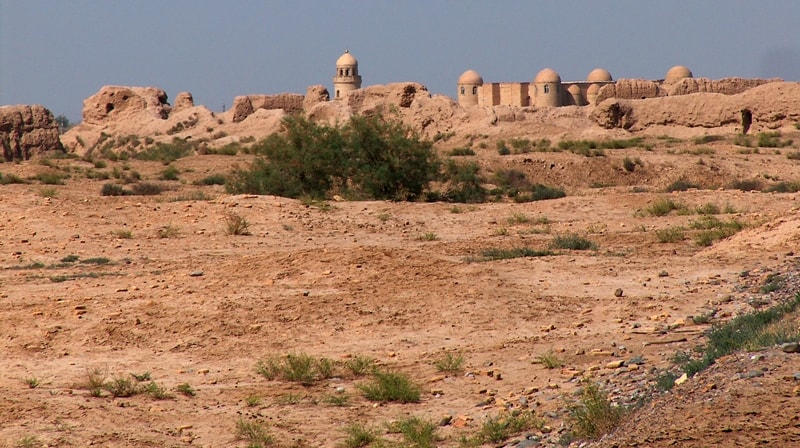 Ancient settlement Gyaur-kala.