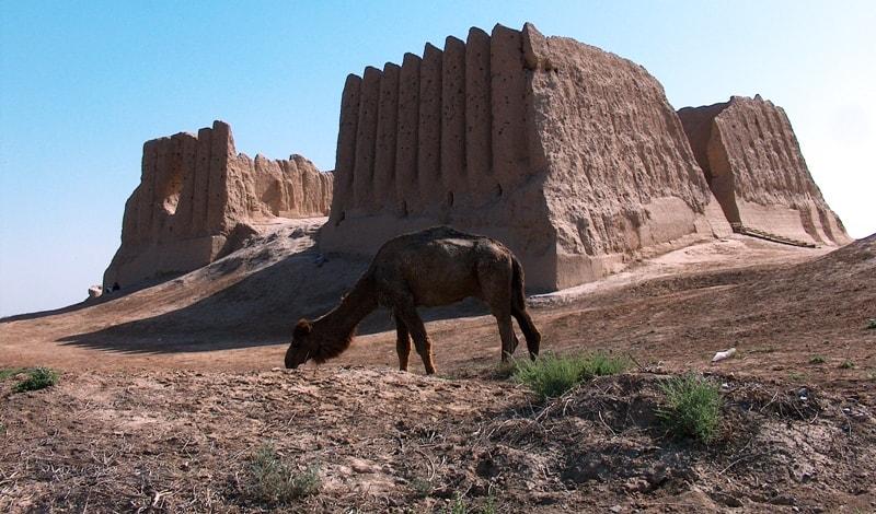 Ancient fortress Big Gyz kala.