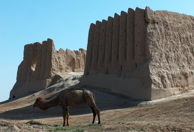 Древняя крепость Большая Гыз кала.