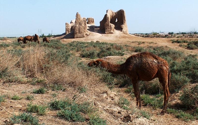 Гыз-кала малая крепость.