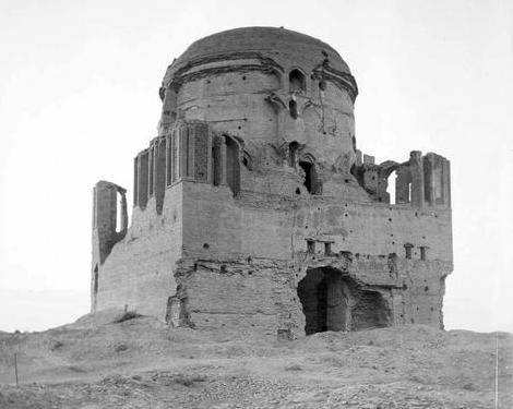 Султана Санджара мавзолей. Фотография Поля Надара. 1890 год.