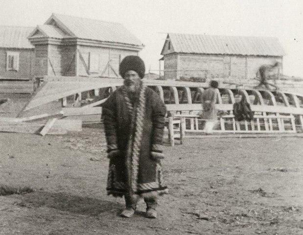 Туркмен с полуострова Челекен.