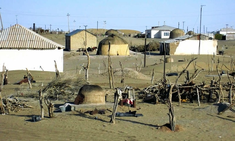 Поселок Ербент.