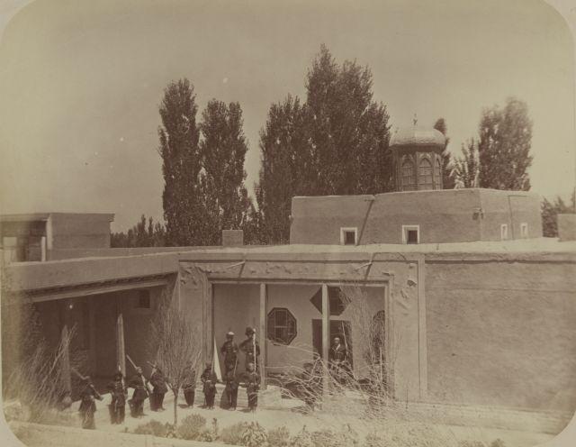 The Harem in kahn palace in Kokand.